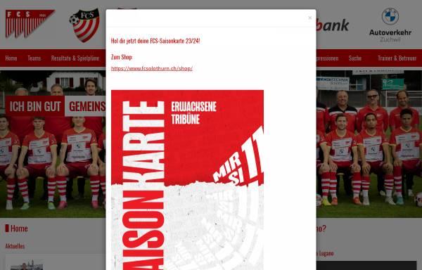 Vorschau von www.fcsolothurn.ch, FC Solothurn