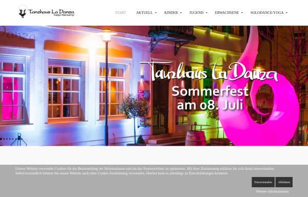 Vorschau von www.tanzhaus-la-danza.de, Tanzhaus La Danza Katja Hillenkamp