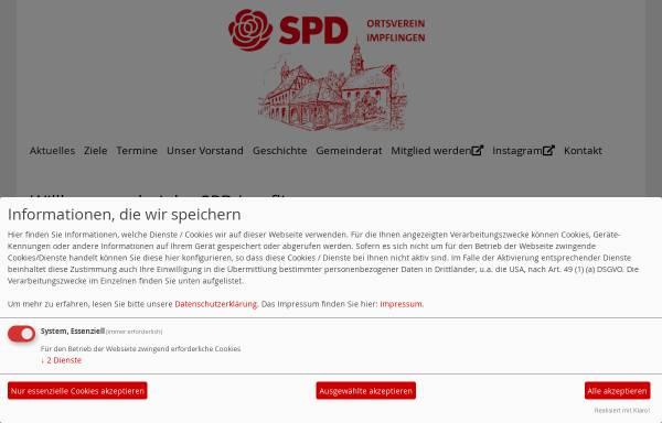 Vorschau von spd-impflingen.de, SPD Billigheim   Ingenheim
