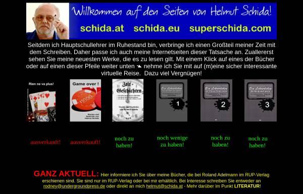 Vorschau von www.superschida.com, Lust auf Kunst mit Helmut Schida
