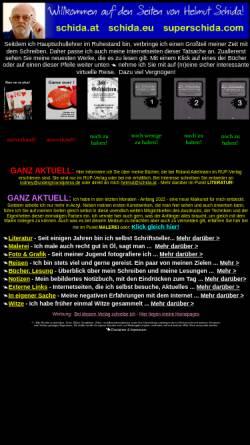 Vorschau der mobilen Webseite www.superschida.com, Lust auf Kunst mit Helmut Schida
