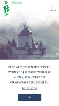Vorschau der mobilen Webseite www.welterbe-mittelrhein.de, Niederheimbach