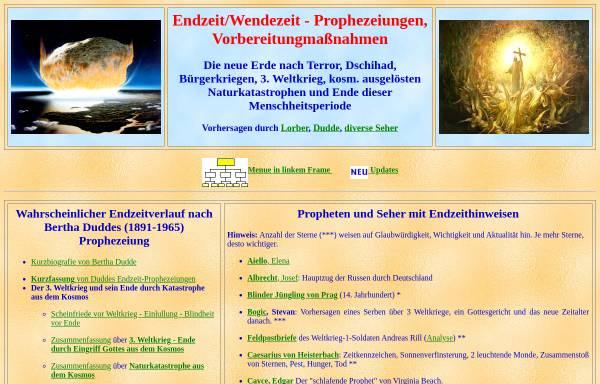 Vorschau von www.j-lorber.de, Jakob Lorber