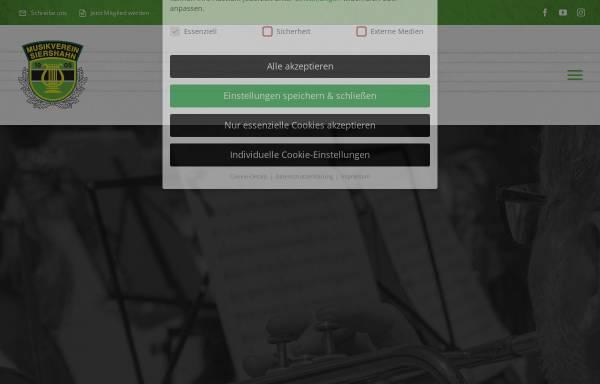 Vorschau von www.musikverein-siershahn.de, Musikverein Siershahn 1905 e.V.