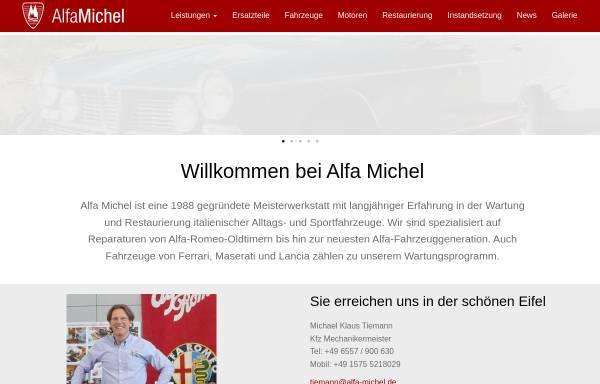Vorschau von alfa-michel.de, Alfa Michel