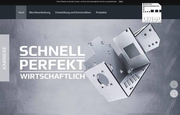 Vorschau von www.lindl-metallbau.de, Lindl Metallbau GmbH