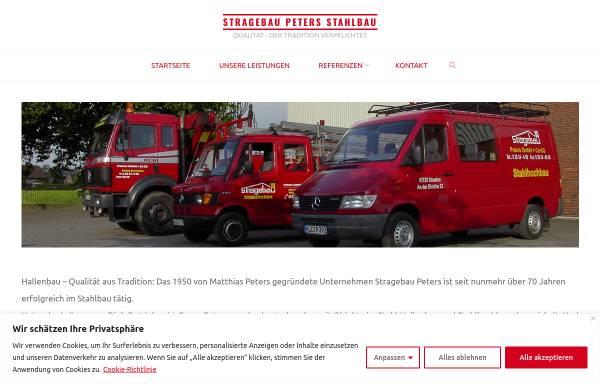 Vorschau von stragebau.de, Peters GmbH & Co. KG