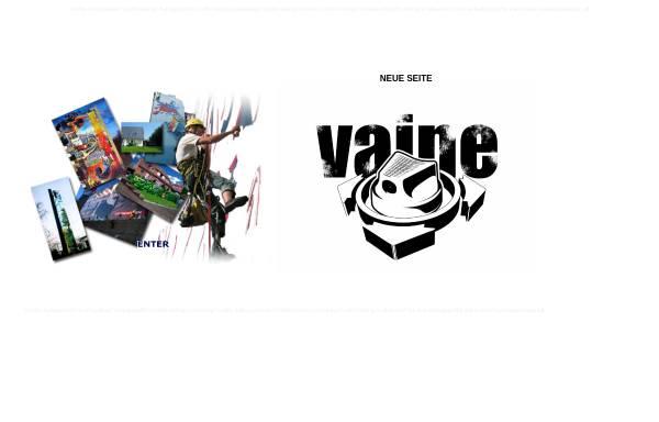 Vorschau von www.vaine.de, Vaine.de