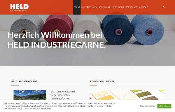 Vorschau von www.chrheld.com, Chr. Held & Co KG