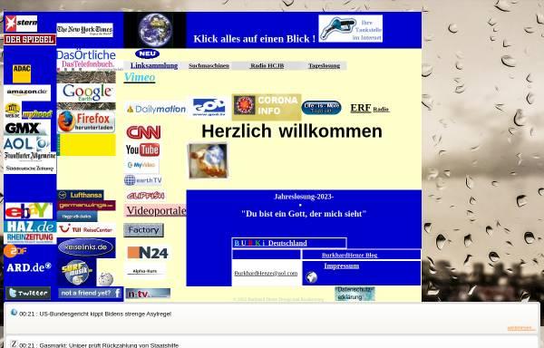 Vorschau von www.christenklick.de, Linkliste