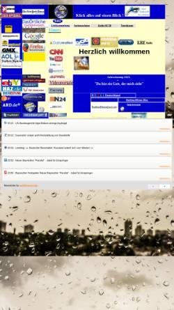 Vorschau der mobilen Webseite www.christenklick.de, Linkliste