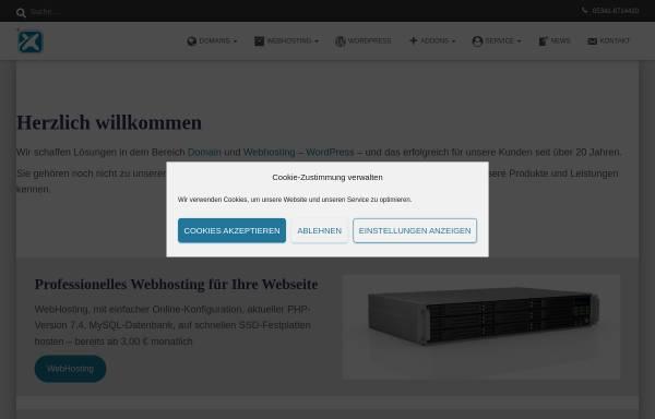 Vorschau von www.nefnex.de, Nefnex e. K. IT & Internet Solutions