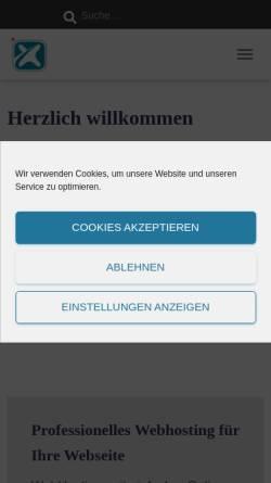 Vorschau der mobilen Webseite www.nefnex.de, Nefnex e. K. IT & Internet Solutions