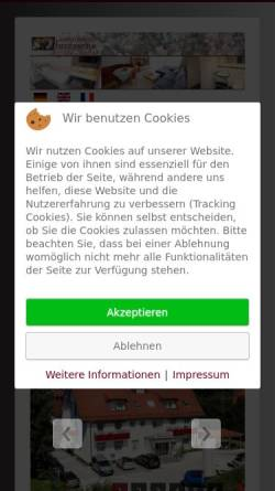Vorschau der mobilen Webseite www.hotel-biedermeier.de, Appartements Biedermeier