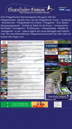 Vorschau der mobilen Webseite www.fliegenfischer-forum.de, Fliegenfischer-Forum
