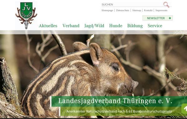 Vorschau von www.ljv-thueringen.de, Landesjagdverband Thüringen e.V.