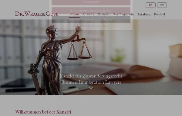 Vorschau von www.mwhg.de, Dr. Wrage & Guse
