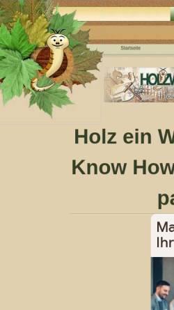 Vorschau der mobilen Webseite www.holzwurm-page.de, Holzwurm-page