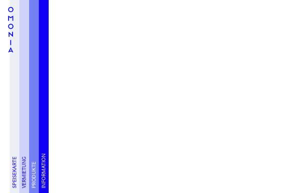 Vorschau von omonia.de, Restaurant Omonia