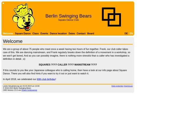 Vorschau von www.berlin-swinging-bears.de, Berlin Swinging Bears