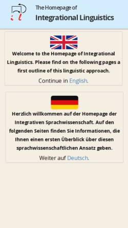 Vorschau der mobilen Webseite www.germanistik.fu-berlin.de, Lieb, Hans-Heinrich