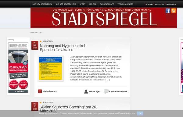 Vorschau von www.stadtspiegel-online.de, Der Stadtspiegel