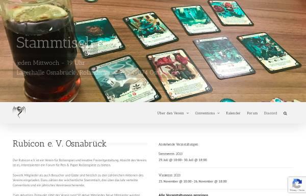 Vorschau von www.rubicon-osnabrueck.de, Rubicon e.V. Osnabrück