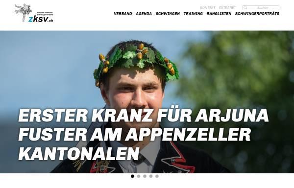 Vorschau von www.zksv.ch, Zürcher Kantonal-Schwingerverband