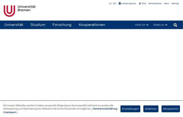 Vorschau von www.uni-bremen.de, Orchester und Projektchor der Universität Bremen