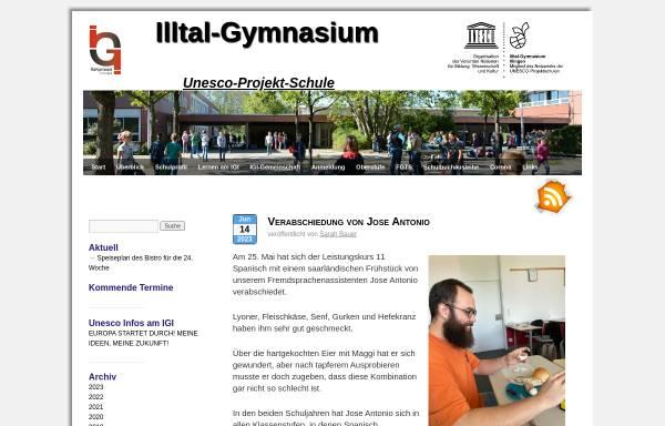 Vorschau von www.illtal-gymnasium.de, Illtal-Gymnasium