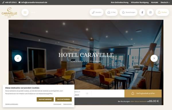 Vorschau von www.caravelle-kreuznach.de, Caravelle Hotel