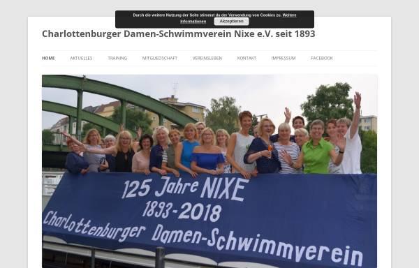 Vorschau von www.schwimmverein-nixe.de, Damen-Schwimmverein