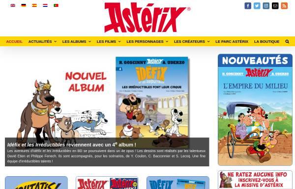 Vorschau von www.asterix.com, Asterix, der gallische Krieger