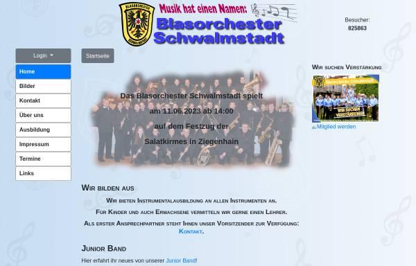 Vorschau von blasorchester-schwalmstadt.de, Blasorchester Schwalmstadt