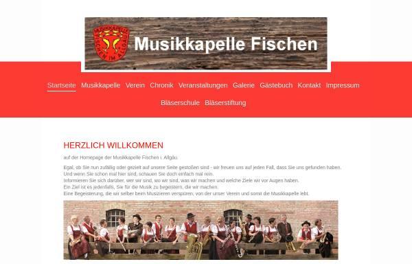 Vorschau von www.musikverein-fischen.de, Musikverein Fischen e.V.