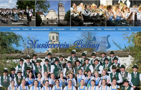 Vorschau von www.musikverein-polling.de, Musikverein Polling