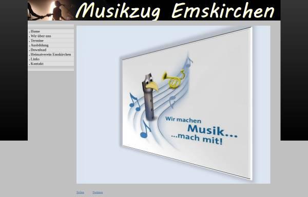 Vorschau von www.musikzug-emskirchen.de, Musikzug Emskirchen