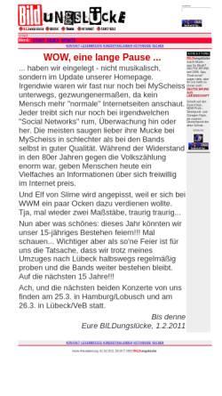 Vorschau der mobilen Webseite www.bildungsluecke.de, Bildungslücke