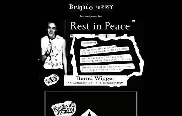 Vorschau von www.brigadefozzy.de, Brigade Fozzy