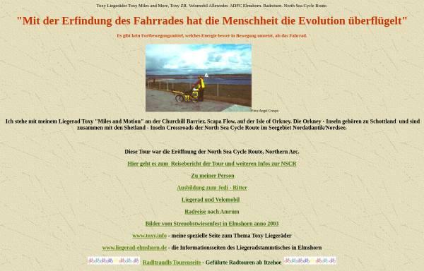 Vorschau von www.peter-spiegel.de, Core Rider Peter Spiegels