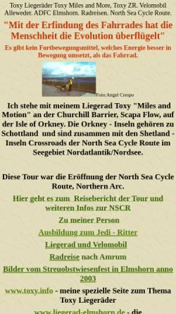 Vorschau der mobilen Webseite www.peter-spiegel.de, Core Rider Peter Spiegels