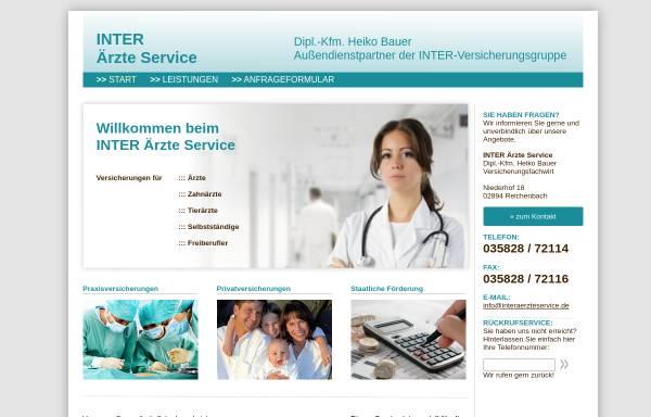 Vorschau von www.interaerzteservice.de, Inter Ärzte Service, Inh. Dipl.-Ing. Horst Bauer