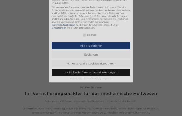 Vorschau von www.vwm-gmbh.de, VWM Versicherungs- und Wirtschaftsmakler GmbH