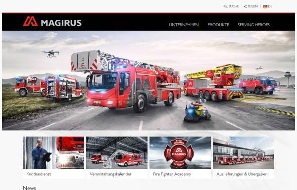 Vorschau von www.iveco.com, Iveco Magirus AG