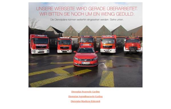 Vorschau von www.feuerwehr-garding.de, Freiwillige Feuerwehr Garding