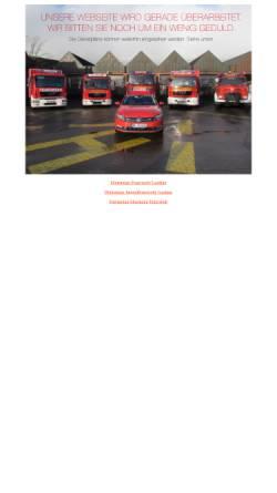Vorschau der mobilen Webseite www.feuerwehr-garding.de, Freiwillige Feuerwehr Garding