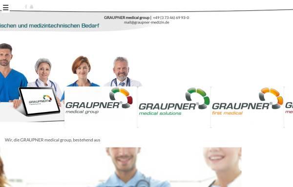 Vorschau von www.graupner-medical-group.com, Graupner Medical Group