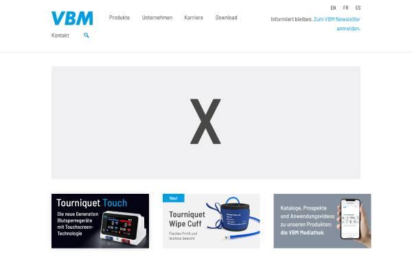 Vorschau von www.vbm-medical.de, VBM Medizintechnik GmbH