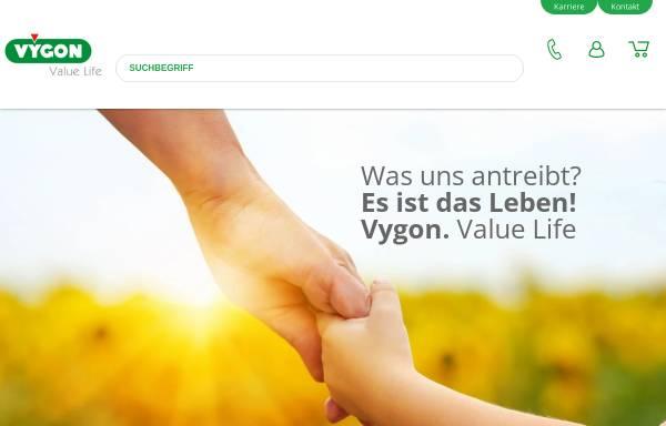 Vorschau von www.vygon.de, Vygon GmbH & Co. KG