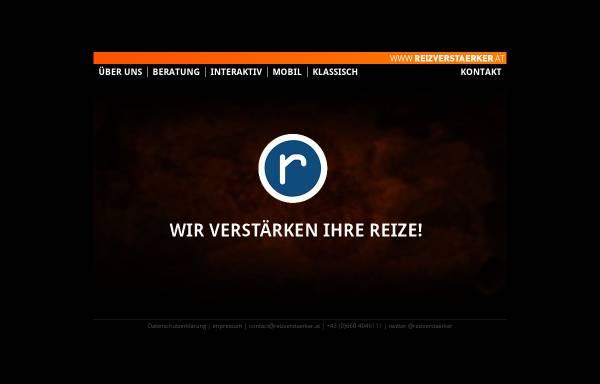 Vorschau von www.reizverstaerker.at, Reizverstaerker Adlhoch Scheiblhofer OEG